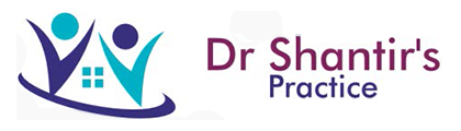 Dr Shantir's Practice logo and homepage link